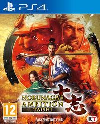 Portada oficial de Nobunaga's Ambition: Taishi para PS4