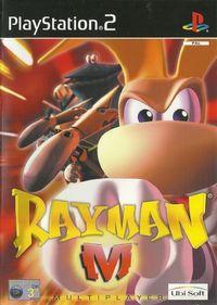 Portada oficial de Rayman M para PS2