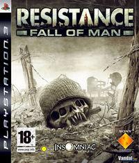 Portada oficial de Resistance: Fall of Man para PS3