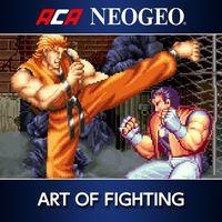 Portada oficial de NeoGeo Art of Fighting para PS4