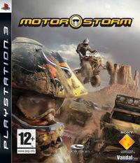 Portada oficial de Motorstorm para PS3