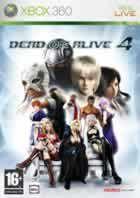 Portada oficial de de Dead or Alive 4 para Xbox 360