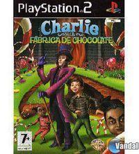 Portada oficial de Charlie and The Chocolate Factory para PS2