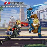 Portada oficial de NeoGeo Garou: Mark of the Wolves para Switch