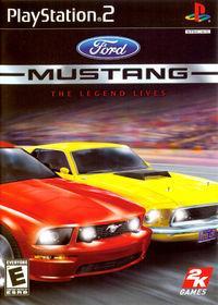 Portada oficial de Ford Mustang Racing para PS2