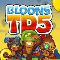Portada oficial de Bloons TD 5 para PS4