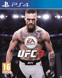 Portada oficial de EA Sports UFC 3 para PS4