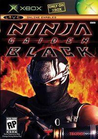 Portada oficial de Ninja Gaiden Black para Xbox