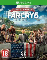 Portada oficial de Far Cry 5 para Xbox One