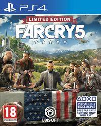 Portada oficial de Far Cry 5 para PS4