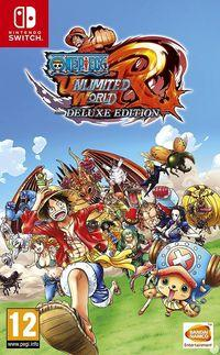 Portada oficial de One Piece Unlimited World -  Red Deluxe Edition para Switch