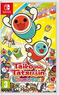 Portada oficial de Taiko no Tatsujin: Drum 'n' Fun! para Switch