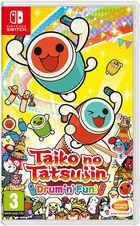 Portada oficial de de Taiko no Tatsujin: Drum 'n' Fun! para Switch