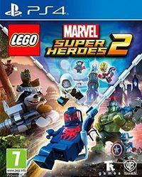 Portada oficial de LEGO Marvel Super Heroes 2 para PS4