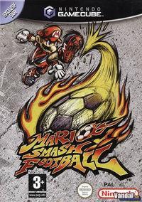 Portada oficial de Mario Smash Football para GameCube