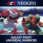Portada oficial de de NeoGeo Galaxy Fight: Universal Warriors para PS4