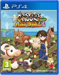 Portada oficial de Harvest Moon: Light of Hope para PS4