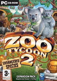 Portada oficial de Zoo Tycoon 2: Endangered Species para PC