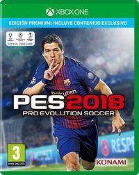 Portada oficial de Pro Evolution Soccer 2018 para Xbox One