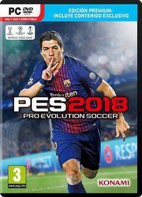 Portada oficial de Pro Evolution Soccer 2018 para PC