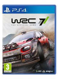 Portada oficial de WRC7 para PS4