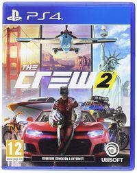 Portada oficial de The Crew 2 para PS4