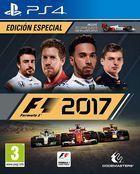 Portada oficial de de F1 2017 para PS4