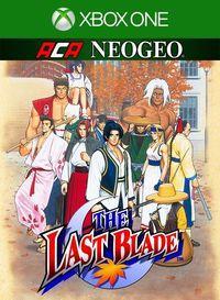 Portada oficial de NeoGeo The Last Blade para Xbox One