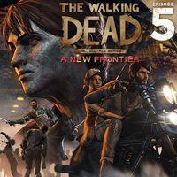 Portada oficial de The Walking Dead: A New Frontier - Episode 5 para PS4