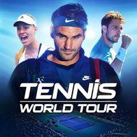Portada oficial de Tennis World Tour para PS4