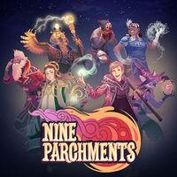 Portada oficial de Nine Parchments para Switch