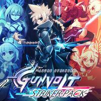 Portada oficial de Azure Striker Gunvolt: Striker Pack para Switch