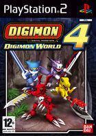 Portada oficial de de Digimon World 4 para PS2