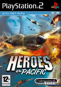 Portada oficial de Heroes of the Pacific para PS2