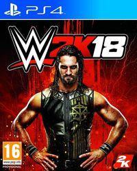 Portada oficial de WWE 2K18 para PS4