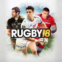 Portada oficial de Rugby 18 para PS4