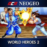 Portada oficial de NeoGeo World Heroes 2 para PS4