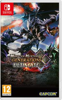 Portada oficial de Monster Hunter Generations Ultimate para Switch