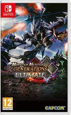 Portada oficial de de Monster Hunter Generations Ultimate para Switch