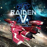 Portada oficial de Raiden V: Director's Cut para PS4