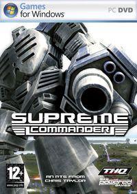Portada oficial de Supreme Commander para PC