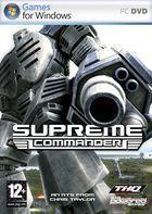 Portada oficial de de Supreme Commander para PC