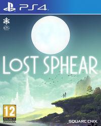 Portada oficial de Lost Sphear para PS4