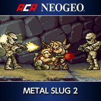 Portada oficial de NeoGeo Metal Slug 2 para PS4