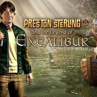 Portada oficial de Preston Sterling and the Legend of Excalibur eShop para Wii U
