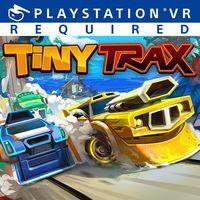 Portada oficial de Tiny Trax para PS4