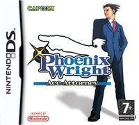 Portada oficial de Phoenix Wright : Ace Attorney para NDS