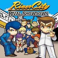 Portada oficial de River City: Rival Showdown eShop para Nintendo 3DS