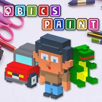 Portada oficial de Qbics Paint para Switch