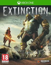 Portada oficial de Extinction para Xbox One